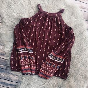 Hollister ~ Cold Shoulder Top